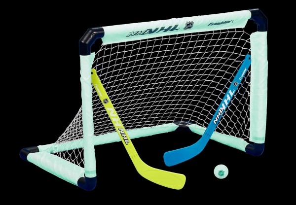 Franklin NHL Mini Hockey Goal-Set beleuchtet, 12450