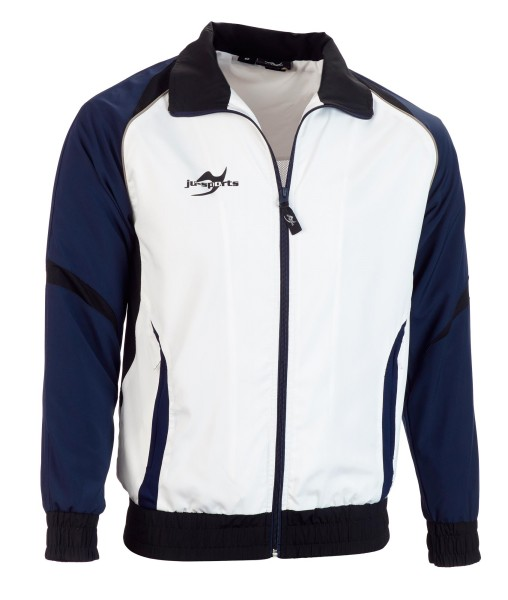Teamwear Element C2 Jacke weiß/navy blau