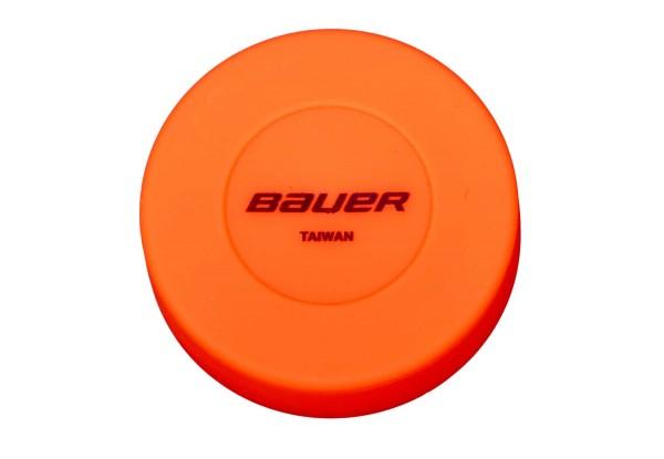 BAUER Floor Hockey Puck, orange (1046642)