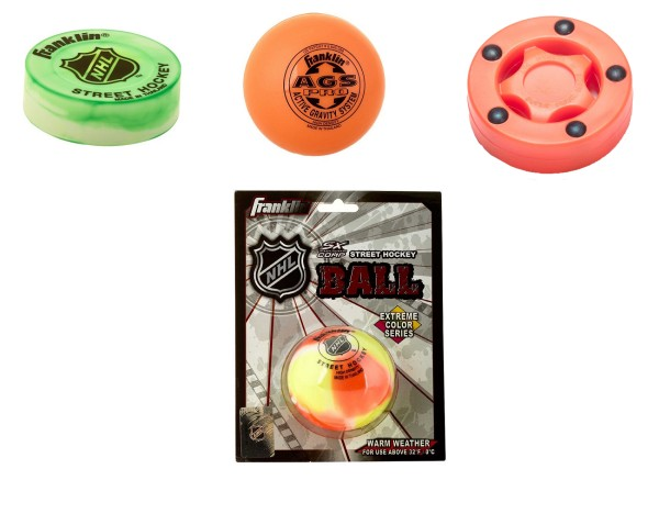 Streethockey Ball & Puck Set standard