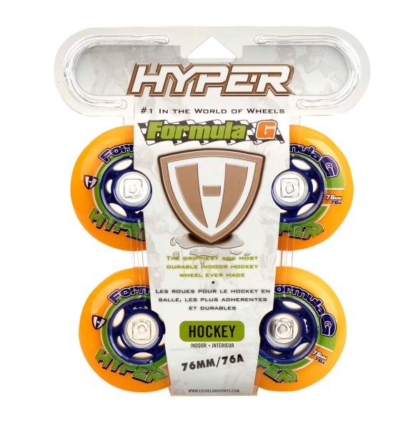 Hyper Indoor-Rollen für Inlineskates Formula G Era, 76A