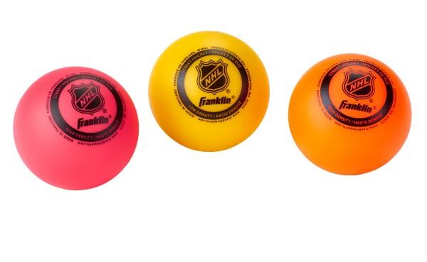 Franklin Multi-Density 3er Pack Streethockeybälle, 42045