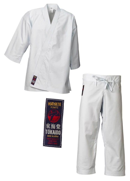 "TOKAIDO Karategi ""Hayate"", MADE IN JAPAN"