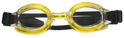 Schwimmbrille Spartan gelb/schwarz 3132