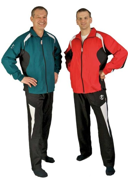 Trainingsanzug Teresina grün/schwarz