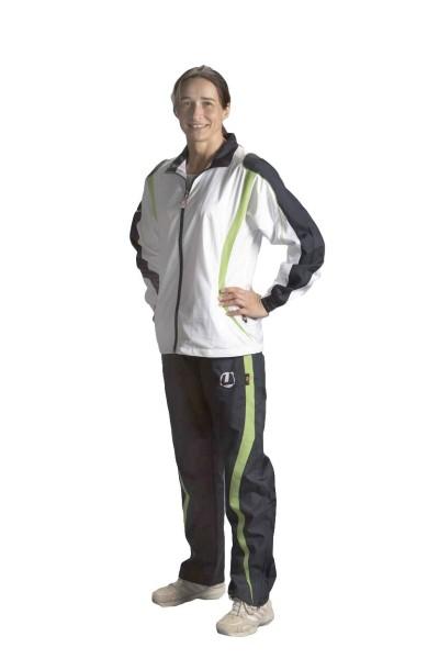 Trainingsanzug Ju-Sports Aragoas weiß/navy-blau Lady cut