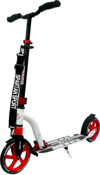 Scooter Double Suspension weiß / rot, 22910