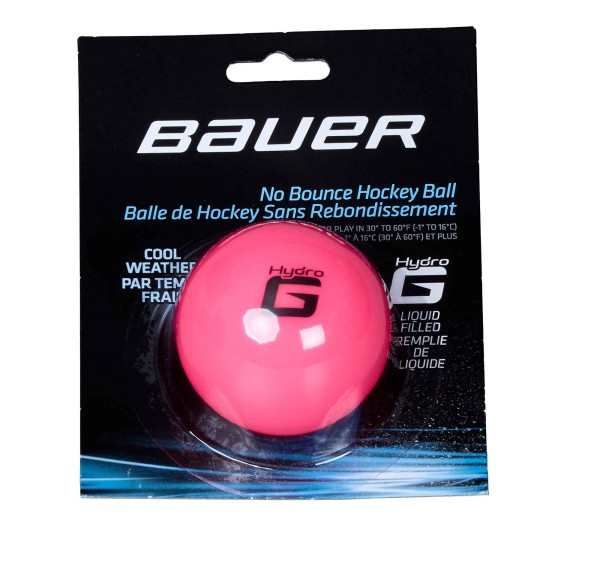 "BAUER Hockey Hydrog Ball ""Liquid filled"" kalt, pink (1048163)"