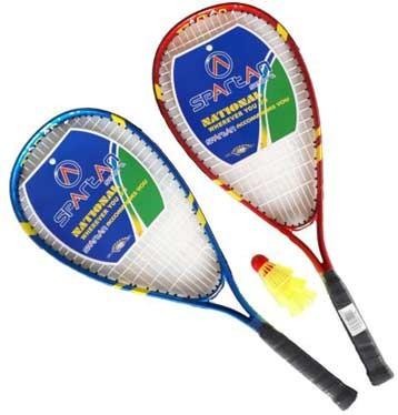 Speed Badminton Set, 2 Schläger mit Bällen, 53580