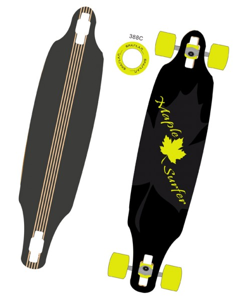 Longboard Maple Surfer 38, 23343
