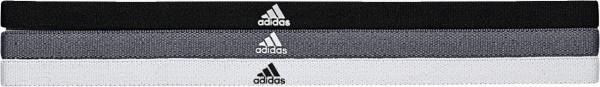 adidas Haarbänder schwarz/grau/weiß, 3er Pack M65247