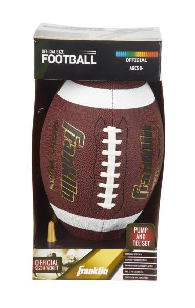 Franklin Official Football Grip-Rite® mit Kick-Tee und Pumpe