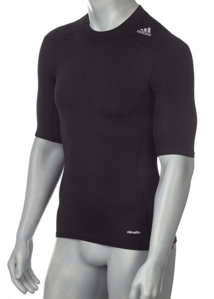 adidas Techfit TF BASE Shortsleeve schwarz, AJ4966