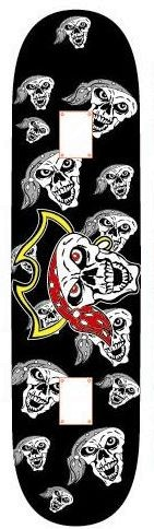 Skateboard Utop Board Skull Pirate, 28301