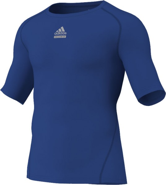 adidas Techfit C&S Shortsleeve royal blau (P92277)
